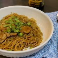 Garlic, butter, & brown sugar noodles