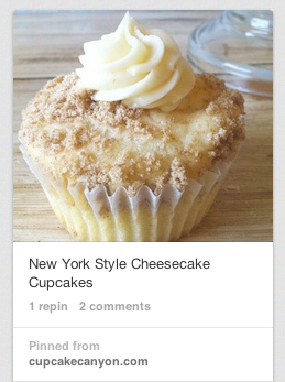 New York Style Cheesecake Cupcakes copy
