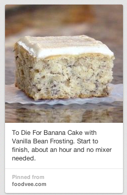 To Die For Banana Cake with Vanilla Bean Frosting copy