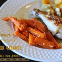 Honey-Garlic Glazed Carrots {side dish}