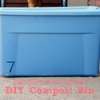 Easy DIY Compost Bin