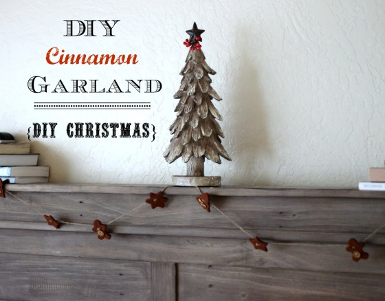 DIY Cinnamon Garland