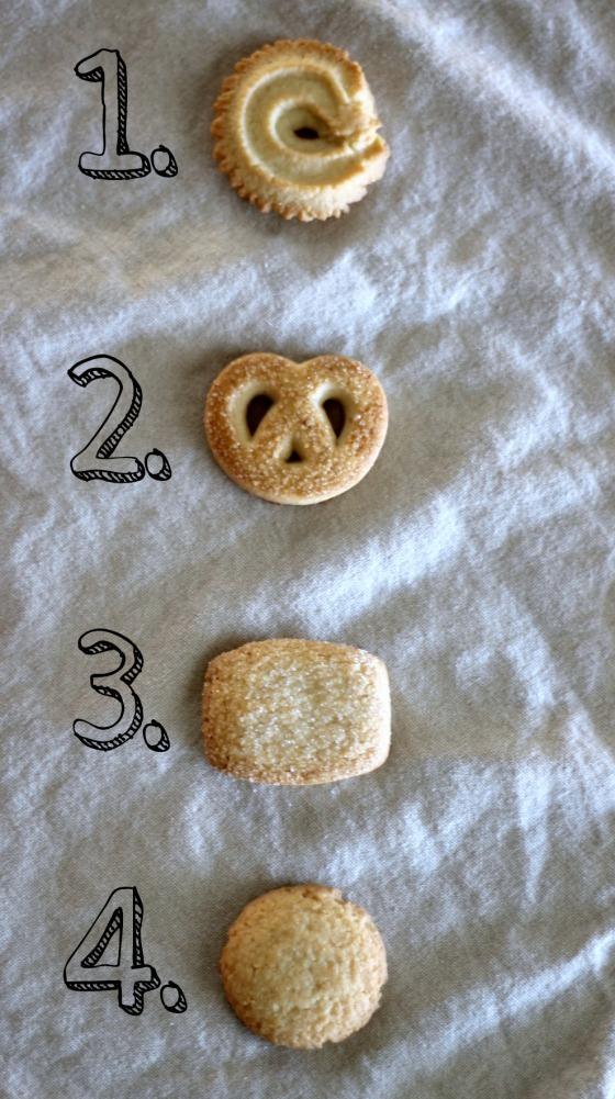 Royal Dansk Cookies Ranked