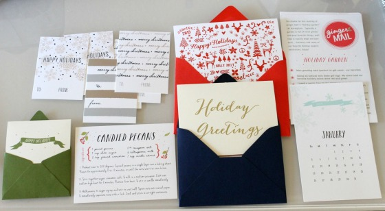 December Ginger Mail